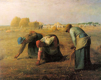 "Jean Francois Millet ""The Gleaners"""